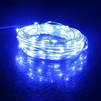 Interior&External Lights 20M 200LED Silver Wire String Fairy Light Christmas Outdoor Decoration LED For Garden Party DC12V