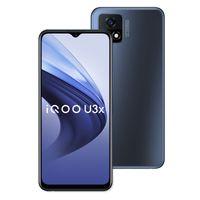 Original vivo iqoo u3x 5g Handy 8GB RAM 128 GB ROM Snapdragon 480 Octa Core Android 6,58 Zoll Full Screen 13MP 5000mAh Fingerprint id Face Wake Smart Mobiltelefon