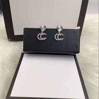 Luxus Designer Schmuck Frauen Armband Edelstahl Manschette Armband Pave Silver Rose Gold Tone Charms Lock Armreif Schmuck mit Box M130