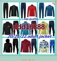 21 22 Arsen Hommes Football Tarcksuit Football Jacket 2021 2022 Camiseta Futbol Maillot de FootToutes Costume de formation