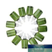 Lot of 12 Pieces Green Plastic Transparent Refillable Empty Dropper Bottle Makeup Perfume Essential Oils Container Vials 50ml Factory price expert design Quality