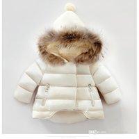 Ins Mädchen Designer Daunenmantel 2021 Winter Mode Kinder Brief Gedruckt Casual Outwear Kinder Mit Kapuze Langarm Hülse Gesteppte Jacke Tops S1563