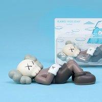 Best-Selling 28cm 0.8kg OriginalFake Kaws Compagnon Half Solding Style de style pour boîte d'origine Figure Figure Modèle Décorations de décorations Toys cadeau