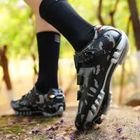 Bisiklet Ayakkabı Erkekler SPD Bisiklet Sneakers Profesyonel Ultralight Nefes Giymek Açık Spor Sapatilha Ciclismo Chaussures Ayakkabı