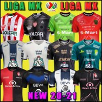 20 21 22 FC Juárez Juarez Pachuca Kulübü Necaxa Leon Atlas Monterrey Futbol Forması 2021 2022 Ev Uzakta Üçüncü Liga MX Futbol Gömlek Üniforma