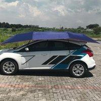 Mezza tenda da tenda da sole automatica copertura auto all'aperto impermeabile piegato a baldacchino portatile anti-UV Sole rifugio tetto 2021 Tende e rifugi