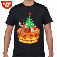 Camiseta hombres Navidad Panadería Galletas Pasteles de galleta Navidad Navidad Básica Negro Geek Impresión Masculino Tshirt XXXL Party # 5R6b