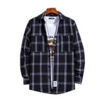Men Shirt Casual Pocket Normal Long Sleevle Turndown 40% Cotton 50% Polyester 10% Others Regular Spring Plaids Black Broadcloth