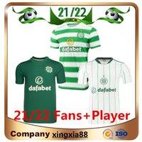 المشجعين لاعب الإصدار 21 22 سلتيك لكرة القدم الفانيلة الصفحة الرئيسية McGregor Griffiths 2021 2022 Forrest Christie Edouard Elyounoussi Third Men Kids Kits قمصان كرة القدم 333