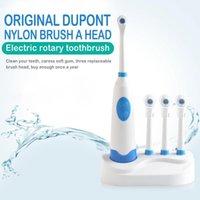 Rotary elektrische Zahnbürste wasserdicht elektrische Sonic Smart Bluetooth mit 3 Bürstenköpfe Zahnpflege