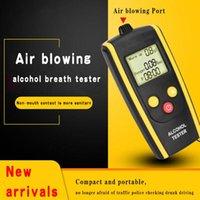 Wiederaufladbarer Luft-Alkohol-Tester tragbarer LCD-Display-Atmoirozer-Beruf Genauigkeit mit OriginalPackage-Alkoholismus-Test