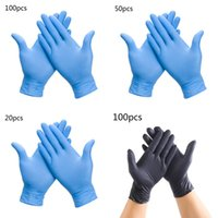 10 100pcs Designer Pink Disposable Latex Gloves Female Rubber Household Cleaning Gardening   Beauty Catering General Online 0w98