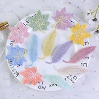 Athele Leaf HaitClips Fashion Hairpin Solid Candy Color Hairclip Barrettes Clip per ragazze