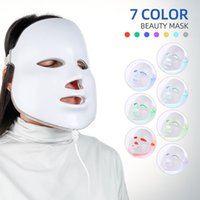 Foreverly Beauty Photon Photon Светодиодная маска для лица Терапия 7 Цветов Светло-уход за кожей Омоложение морщин Удаление угрева в SPA