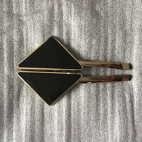 Neue 2020 Heißes Metall Dreieck Haarclip mit Stempel Frauen Netz Rot Mädchen Dreieck Brief Barrettes Mode Haarschmuck Hohe Qualität