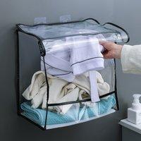 Подвесная сумка для хранения нижнего белья настенная одежда за ванной комнатой водонепроницаемые пакеты для двери банные полотенца 4 цвета