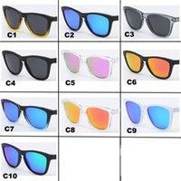Polarized Sunglasses Matte TR90 Frame UV400 Protection Cylcing Eyewear Men And Women Brand Sun Glasses 10 Color