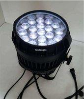 Etkileri 12 Parça Açık Su Geçirmez LED Stagelight 19 adetx10w RGBW 4-in-1 Zoom LED64 Lamba