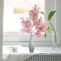 Имитационные орхидеи Цветок Бугенвиллея Домашнее зрительное украшение Искусственное искусственное поддельные цветы для свадьбы Эль декор Декоративные венки