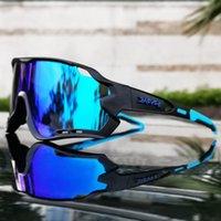 Kapvoe 5 Objektiv Sport Fahrradbrille Für Männer Frauen Rennen Reiten Sonnenbrille MTB Radfahren Eyewear Pro Road Bike Goggles Outdoor