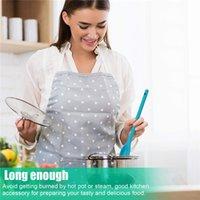 Силиконовые микшированные ложки, приготовления посуды длинная ручка безпрядительская кухня, обслуживающая термостойкая посуда для перемешивания Scooping EEB5990