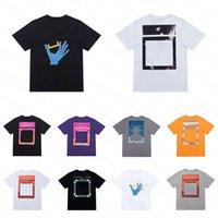 Verão do desenhista camisetas Homens Mulheres Manga Curta Tee Casual Designers T-shirt Alta Quanlity Loose Tees Tamanho S-3XL
