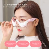 3D EMS Micro-Current Pulse Eye Relax Massager Heating Therapy Acupressure Fatigue Relief Wrinkle Reduction Blood Circulation USB charge