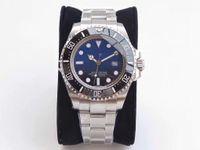 2019 Top Ghost King N V7 fabbrica Versione V7, orologio da ceramica, 2836 Macchina automatica Macchina Zaffiro, orologio super impermeabile.