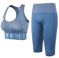 Egzersiz Giysileri Spor Sutyen Kadınlar Egzersiz Fitness Spor Tayt Spor Giyim Spor Atletik Pantolon Yoga Set Suits