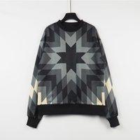 Winter Men Dames Diamond Pattern Pullover Hoodies Hip Hop Streetwear Losse Fit Womens Hoody Sweatshirt