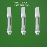 Пустые картриджи ReaPe Pen Cartridges Delta 8 Pull Ceramic Vapes Carts Automizer Usa Stock Wide Free 510 резьбовой картридж Упаковка 1 мл E-сигареты толстые масляные ваузье
