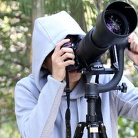 Cabeça profissional do tripé do gimbal da câmera para a grande capacidade de carga da carga lente 1/4 parafuso 48mm Diâmetro11