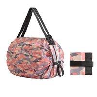 Storage Bags Large Fashion Printing Reusable Foldable Shopping Bag Eco Tote Handbag Travel One-shoulder Portable Grocery