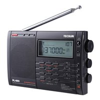 Radio PL-660 PLL SSB VHF Bande d'air récepteur FM / MW / SW / LW Multiband Dual Tecsun I3-001