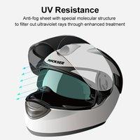 Motorcycle Helmets Helmet Clear Lens Patch Film Antifog Visor Sticker Motorbike Equipments Accessories