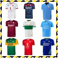 2021 Kerry Galway Dublin GAA Rugby Jerseys Fussball Jersey 21 22 Tyrone Tipperary Retro Cork Classic Home Away Shirt