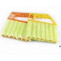 أدوات التنظيف مفيدة ستوكات نافذة فرشاة نظيفة مكيف الهواء منفضة المنفضة مع قابل للغسل البندقية DHD5982