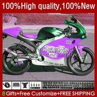 Corpo de motocicleta para Aprilia RS-250 RS RS250R 95 96 97 24no.148 RSV-250 RSV250R RSV250 1995-1997 RSV250RR New Purple RS250RR 1995 1996