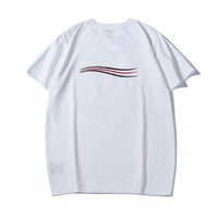 Mode Herren T-Shirt Sommer Kurzarm Top European American 3D Druck Paris T-Shirt Männer Frauen Paare Hohe Qualität Beiläufige Kleidung Große Größe XS-2XL