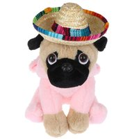 Dog Apparel Mini Pet Dogs Straw Hat Sombrero Cat Sun Beach Party Hats Hawaii Style For Funny Accessories