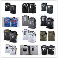 2021 Kyrie homens personalizados mulheres juventude 11 Irving BrooklynJerseys de basquete líquido vermelho jersey de licença de licença