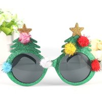 Christmas Tree Sunglasses Christmas Day Party Funny Glasses Decoration Props