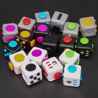 Fidget Cubes Fidget Toy Pack for Kids Adults Stress Relief Sensory Toy for Autism Special Needs Anxiety Stress Reliever Factory Direct