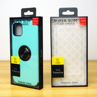 Blister PVC Plastic Clear Retail Packaging Package Box for Phone 4.7~6.5 Inch Clear Mobile Phone Case Cover Shell Display Boxes