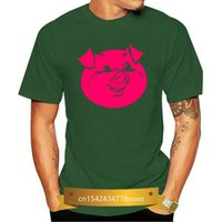 Men's T-Shirts PIG Farm Bacon Kill Hunt Crap Mud Food Shoot Smell Poop Dog Hourse Funny T-Shirt Discount Tshirt Top S