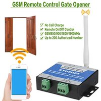 Door Opener Call Remote Controller Access Kit 3G RTU5035 For Parking Systems RTU5024 GSM Gate Relay Switch Wireless Fingerprint Control
