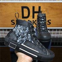 Sneakers in alto Top B23 Obliquo Designer Scarpe da uomo Donne Lussurys Designer Sneaker Fashion Traspirante Punta TECNICO PIACCHE PIATTAFORMA ESTERNA PIATTAFORMATORE AUTOSCABILI CON BARCACK