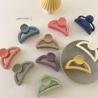 Barrettes Hairpin Fanjia Korean Ins Clip Children's Back Hair Small Girl Headdress Baby pin Coil Ornament