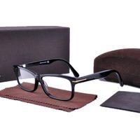 Clássico 5146 Quadro Unisex Estreito Retangular Fullrim Eyewear Primavera Hhnge 54-13-145 Qualidade Itália Pure-Plank Pequeno Quadrado RIM para Prescrição Fullset Case