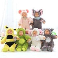 Bee mignon poupée bébé poupée kawaii poupée poupée peluche mouton poupée jouet poupée animal poupée poupée enfants jouets de haute qualité goutte ship 201215